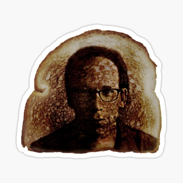 Lawrence Krauss Miracle Toast 2 Sticker