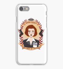 Dana Scully iPhone Case/Skin