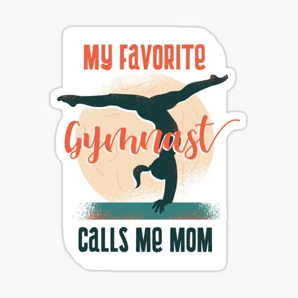 My Favorite Gymnast Sticker