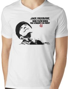 One Flew Over The Cuckoo's Nest Mens V-Neck T-Shirt