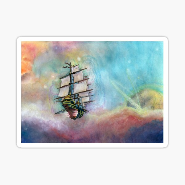 Mike's Tall Ship Sticker