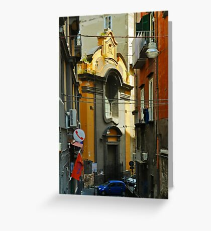 NAPLES AFTERNOON Greeting Card