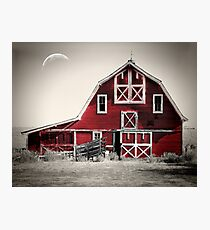 Luna Barn Photographic Print