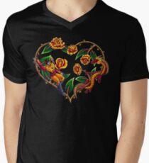 Rodimus & Roses Men's V-Neck T-Shirt