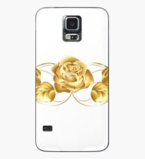Beautiful Gold Floral Merchandise Case/Skin for Samsung Galaxy