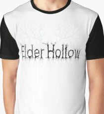 Elder Hollow - 'We are Watching' Logo Graphic T-Shirt