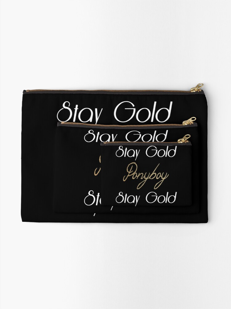 Alternate view of The Outsiders Zipper Pouch