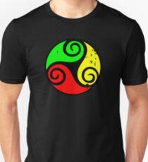 Reggae Flag Chilling Vibes - Cool Reggae Flag Colors Gifts T-Shirt