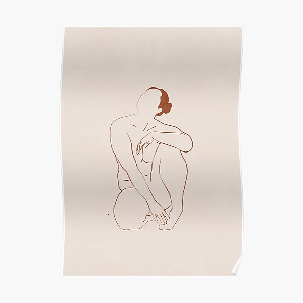Nude Line Poster