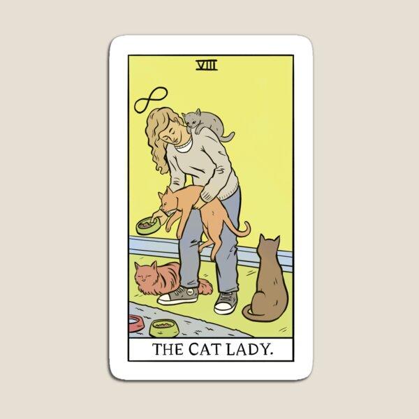 Tarot moderno - La dama gato Imán