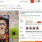 ALIEXPRESS selling one of my Fridas without permission by Madalena Lobao-Tello