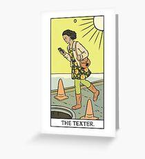 Modern Tarot - The Texter Greeting Card
