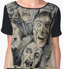 Evil Dead Caffeine Shock Women's Chiffon Top