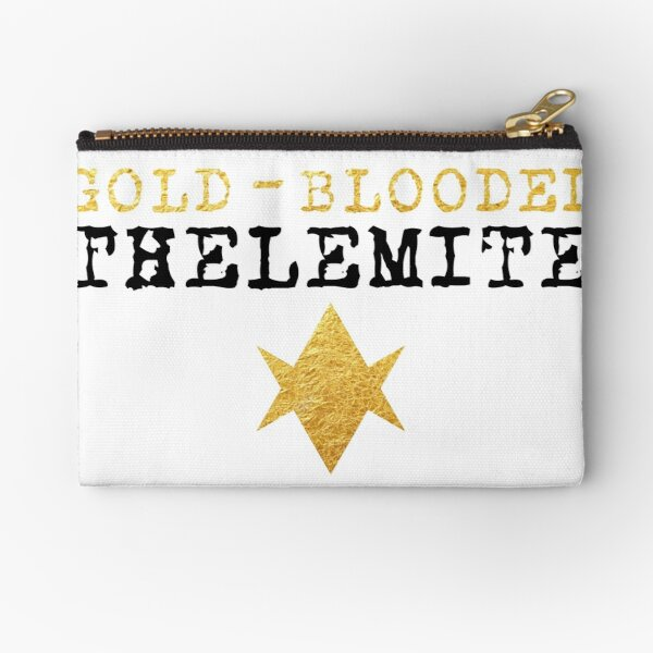 Gold-Blooded Thelemite (light background) Zipper Pouch