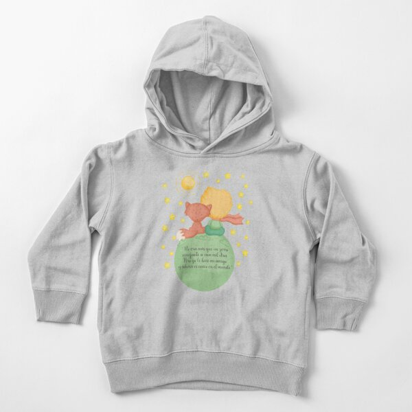 The Little Prince and the Fox Toddler Pullover Hoodie
