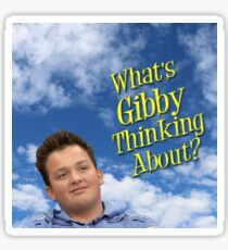 What is Gibby thinking about? Sticker