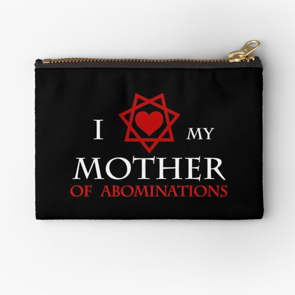 I <3 my Mother of Abominations Zipper Pouch