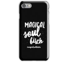 Magical Soul Bitch Black Logo iPhone Case/Skin