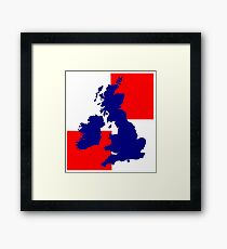 UNITED KINGDOM Framed Print