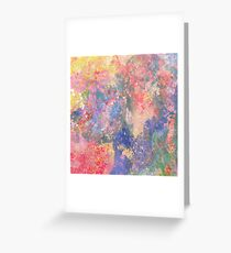 Pale Abstract 75 Greeting Card