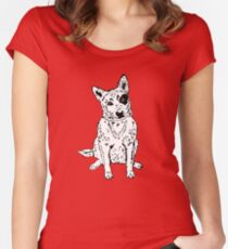 Dawg Women's Fitted Scoop T-Shirt