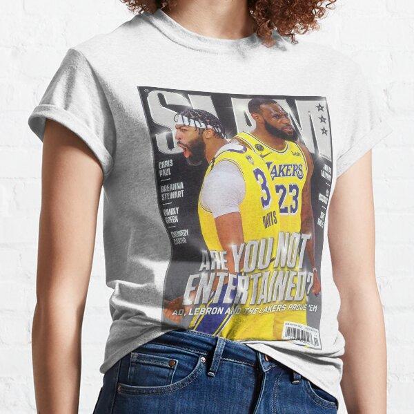 Lebron James and Anthony Davis | Slam magazine Classic T-Shirt