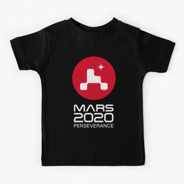 Mars 2020 Perseverance logo NASA (white) Kids T-Shirt