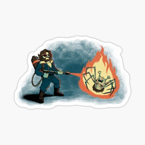 KILL IT WITH FIRE Sticker