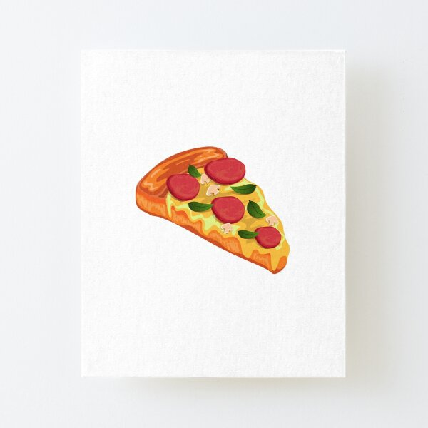 Pizza Canvas Mounted Print