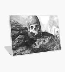 A Knight's Skull Laptop Skin