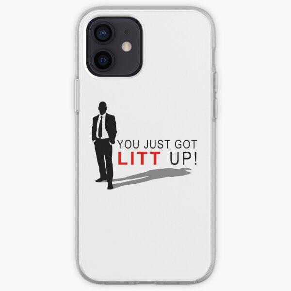 You just got Litt up! iPhone Soft Case