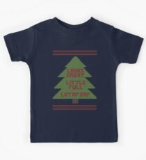 Christmas Vacation Ugly Sweater Kids T-Shirt