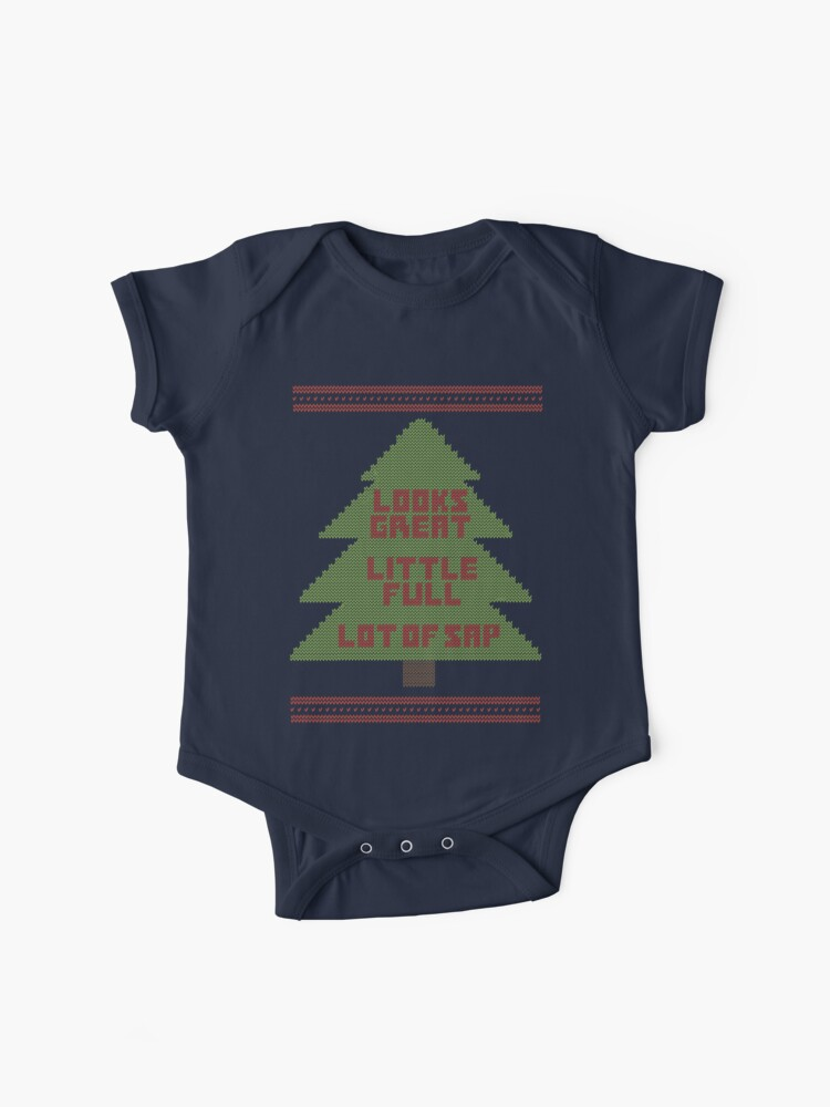 Christmas Vacation Sweaters.Christmas Vacation Ugly Sweater Baby One Piece