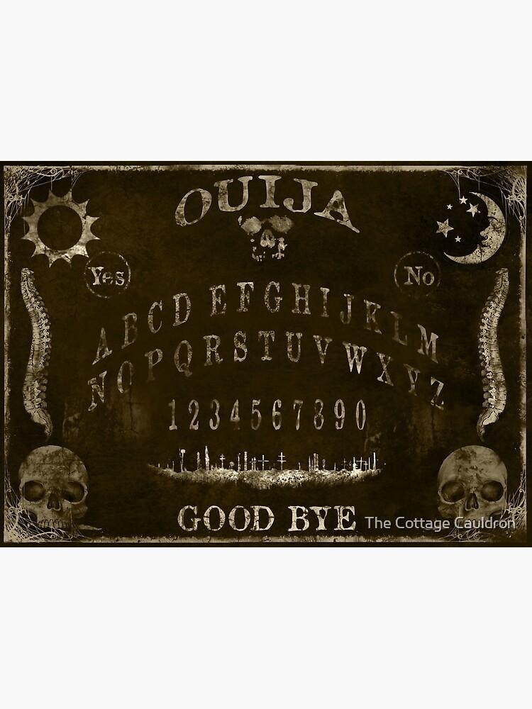 Ouija Spirit Board Design Greeting Card