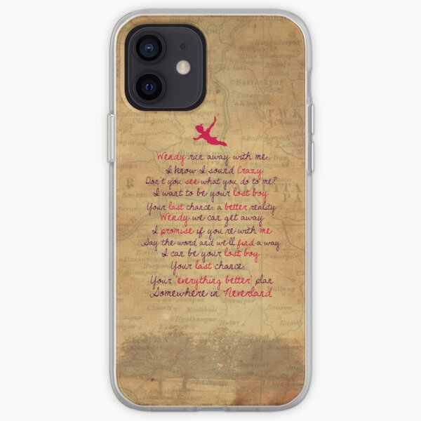 Somewhere in Neverland iPhone Soft Case