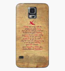 Somewhere in Neverland Case/Skin for Samsung Galaxy