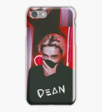 DΞΔN / DEAN- Red iPhone Case/Skin