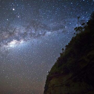 A Milky Night by capitanochapman