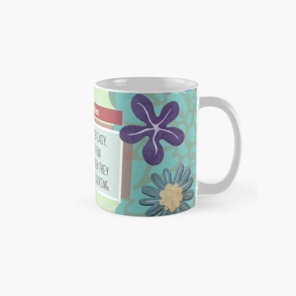 """Cooking is Never Easy""   Coffee Mug Classic Mug"