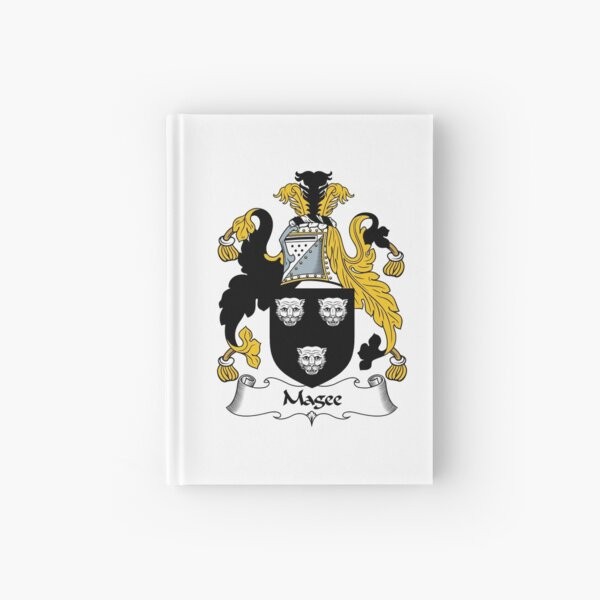 Magee Coat of Arms / Magee Family Crest Hardcover Journal
