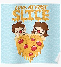 Love At First Slice Poster