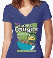 Kapp'n Crunch! Women's Fitted V-Neck T-Shirt