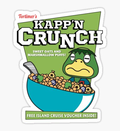 Kapp'n Crunch! Sticker