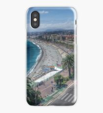 Nice, French Riviera, France iPhone Case/Skin
