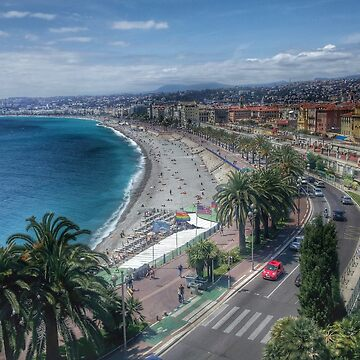 Nice, French Riviera, France by capitanochapman