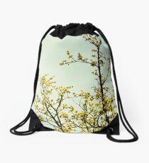 Migratory Sunshine Drawstring Bag
