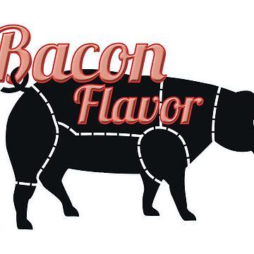bacon by tiffanyo