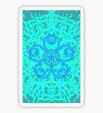Mystical Mandala 16 Starfish Mermaid Sticker