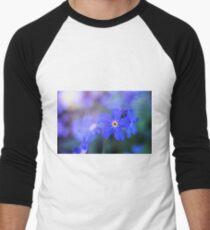Forget-me-Not Men's Baseball ¾ T-Shirt