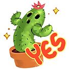 Yes Cactus by bapsi